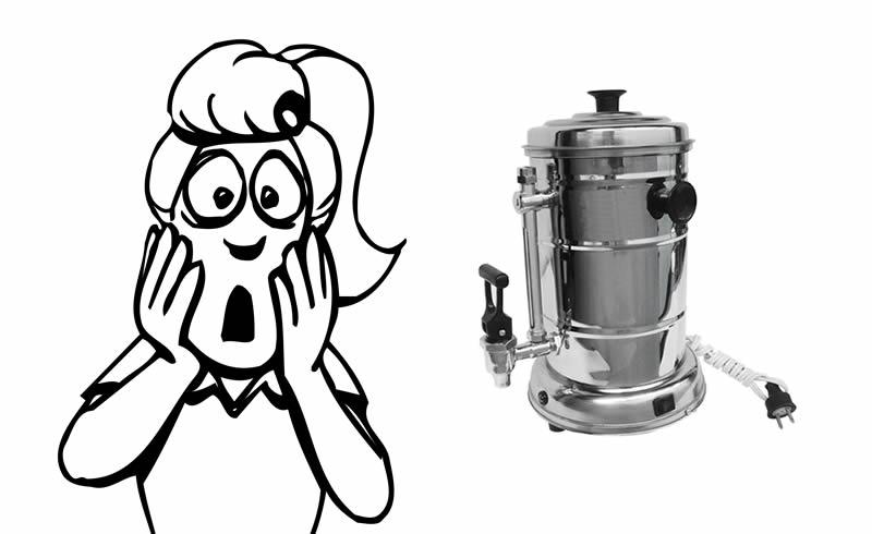 No hay que preparar café en una greca